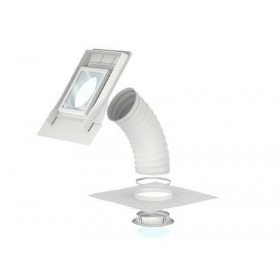 Svetlobnik VELUX za poševno, valovito streho TWF - fleksibilna povezava
