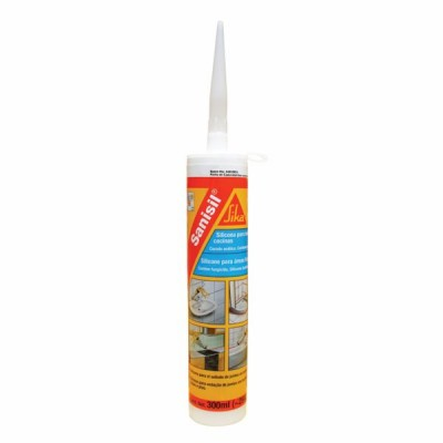 Silikonski kit SIKA SANISIL SANITAR, Transparent, 300ml