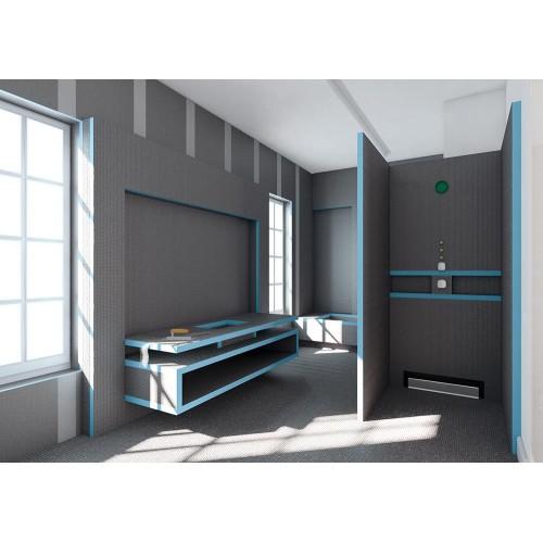 gradbena plo a wedi construct 2500 x 600 x 30 mm rezana. Black Bedroom Furniture Sets. Home Design Ideas